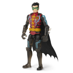 Batman 4-inch Robin Action Figure with 3 Mystery Accessories
