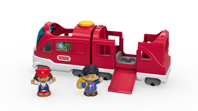 Fisher-Price Little People Friendly Passengers Train - English Edition