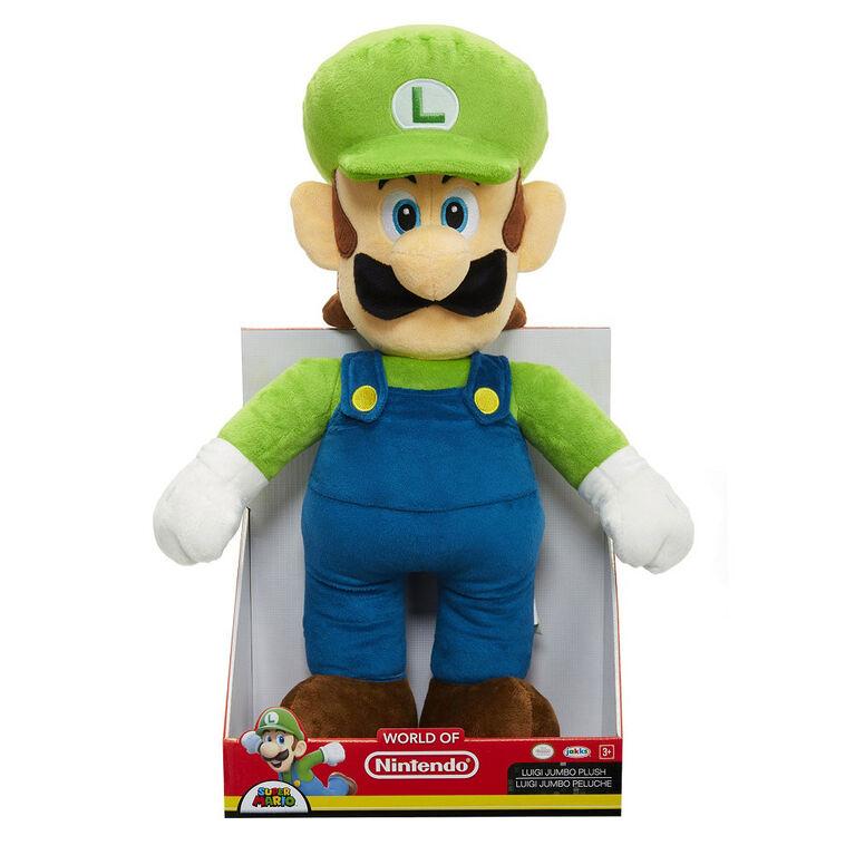 Nintendo – Peluche de base jumbo – Luigi