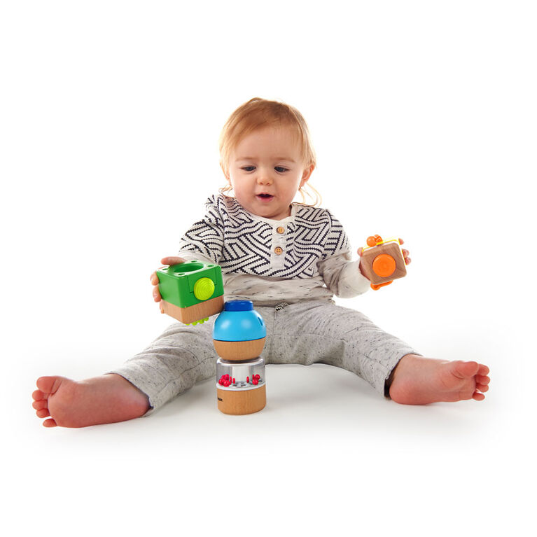 Four Fundamentals Wooden Sensory Set