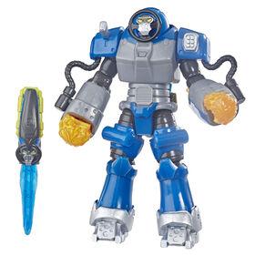 Power Rangers Beast Morphers - Figurine de 15 cm Smash Beastbot.