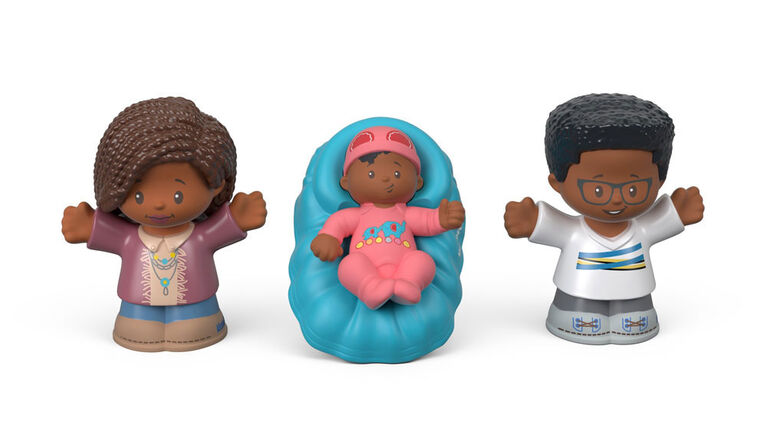 Fisher-Price - Little People Big Helpers Family - Blue