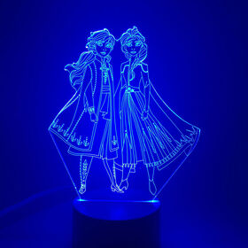 Disney Frozen II Multi-Coloured Led Night Light