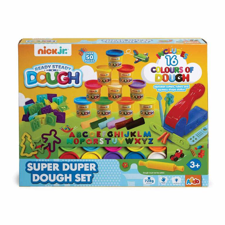 Coffret Ready Steady Dough Super Duper Dough Set de Nick Jr