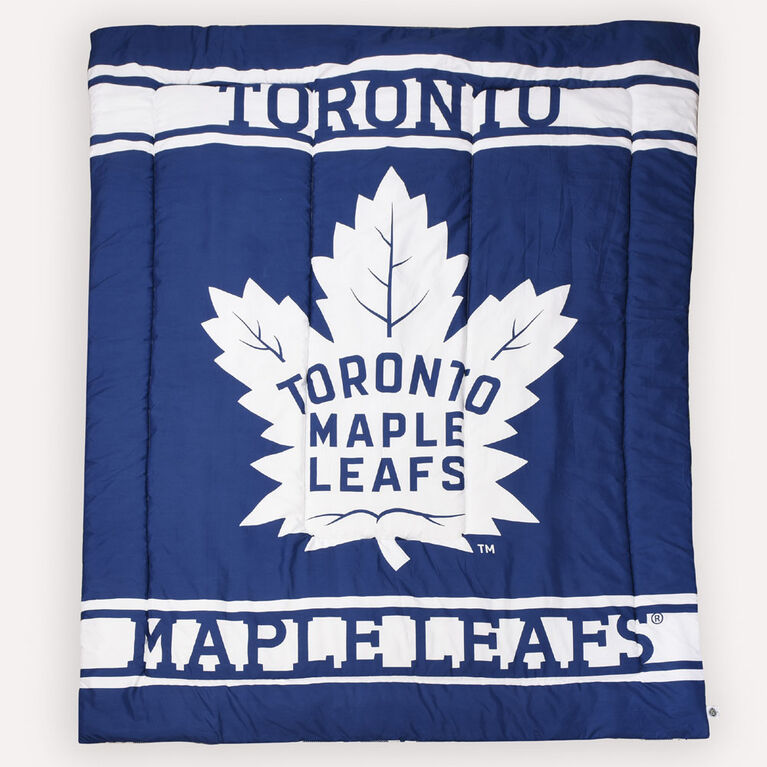 NHL Toronto Maple Leafs Bed in a Bag- Twin Size