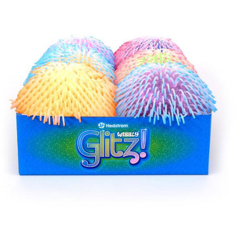 """Wibbly Glitz 2 Tone 8"""" Ball - Les couleurs et les motifs peuvent varier - Une balle aléatoire par achat"""
