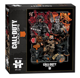 """Call of Duty Black Ops 4 """"Specialist"""" 550 Piece Puzzle"""