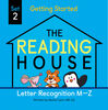 The Reading House Set 2: Letter Recognition M-Z - English Edition