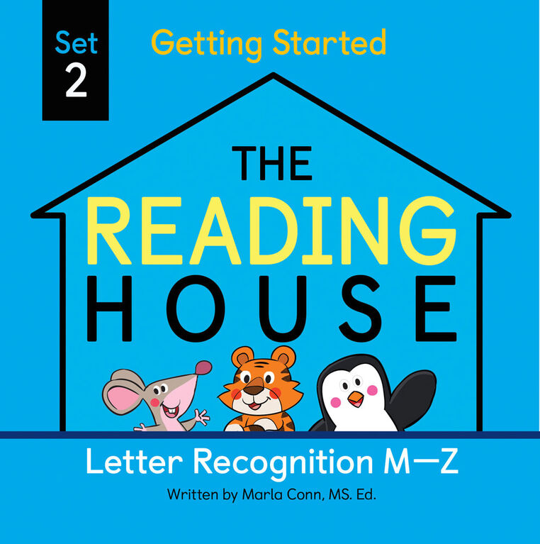 The Reading House Set 2: Letter Recognition M-Z - Édition anglaise