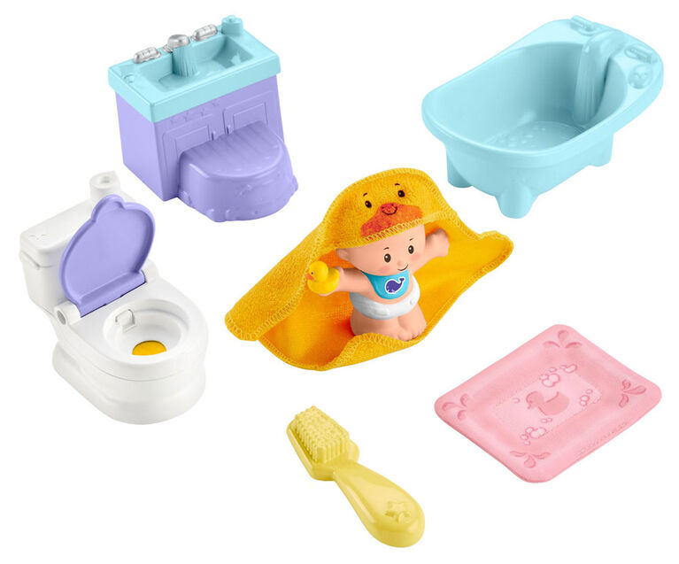 Fisher-Price - Little People - Bébés - Soins et dodo