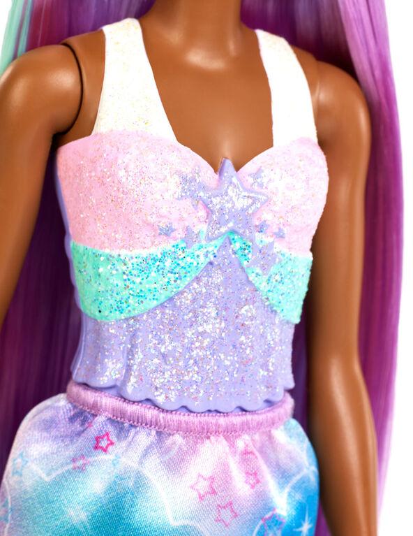 Barbie Dreamtopia Princess Doll, Purple Hair