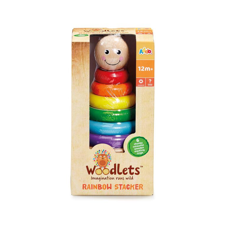 Woodlets - Stacker - R Exclusive - English Edition