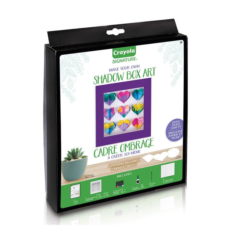 Crayola Signature DIY Shadow Box Craft Kit