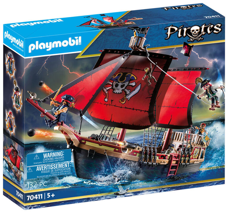 Playmobil Bateau pirates