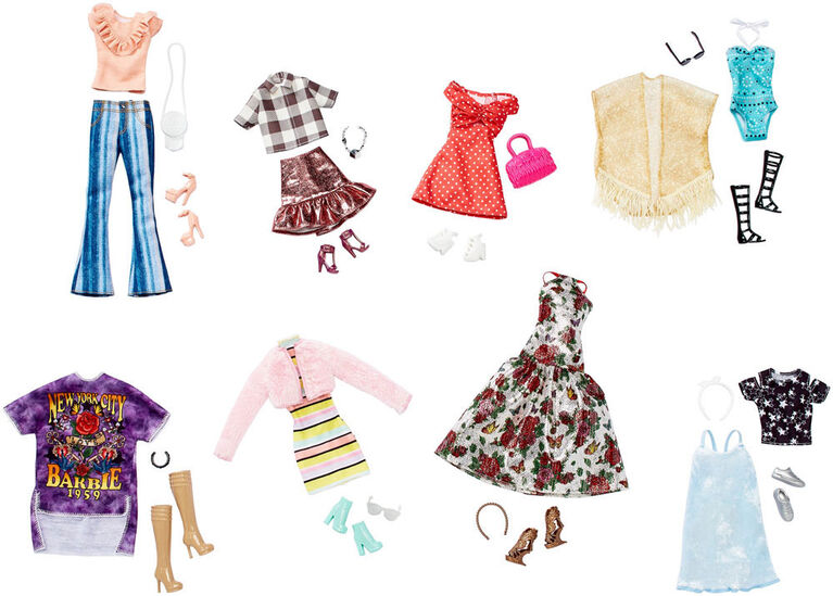 Barbie Fashions and Accessories Multipack - R Exclusive