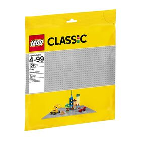 LEGO - Plaque de base grise (10701)