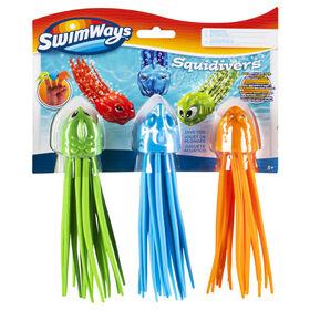 3 Pack Squidivers