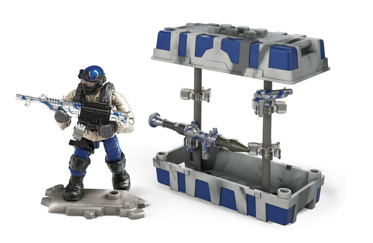 Mega Construx Call of Duty Navy Weapon Crate