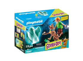 Playmobil Scooby Doo Scooby & Shaggy W/ Ghost 70287