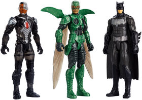 Justice League 12-inch Figure 3-Pack - R Exclusive