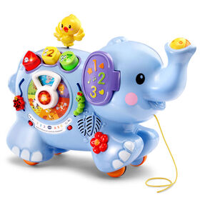 Pull & Discover Activity Elephant - English Edition