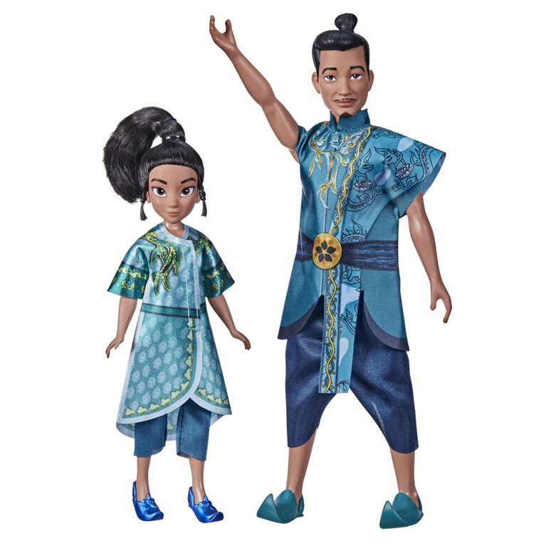 Disney's Raya and the Last Dragon Young Raya and Chief Benja - R Exclusive