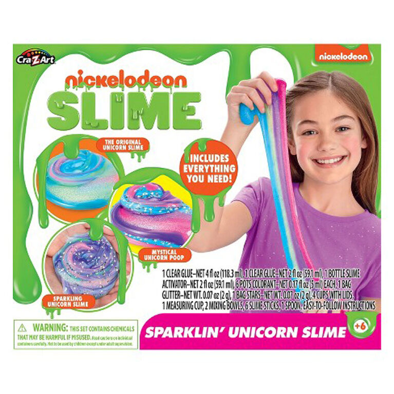 Nickelodeon Ultimate Unicorn Slime Kit