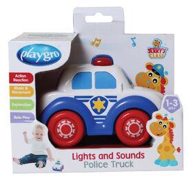Playgro - Lumières et son voiture de police