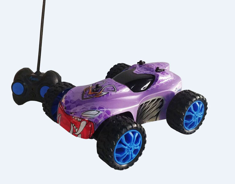 Monzoo – 1:22 Full Function RC Monster - Series 1 - 49MHZ/ Purple