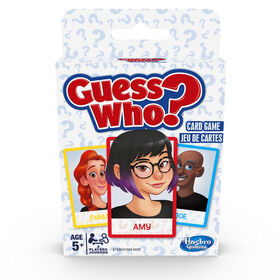 Jeu de cartes Guess Who?
