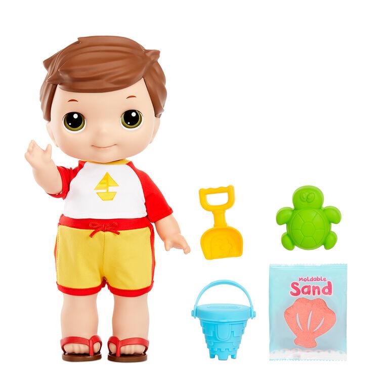 Tommy Sable et soleil de 12 po (30 cm) Lilly Tikes, poupée de Little Tikes pour enfants d'âge préscolaire
