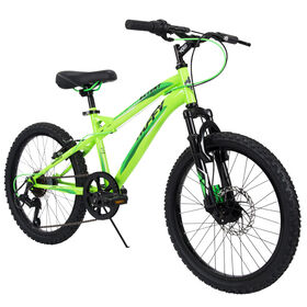 Huffy Extent 6-Speed Mountain Bike, Green - 20 inch