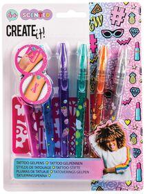 Create It Tattoo Perfume Pens and Stencils