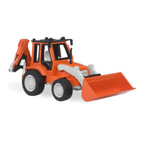 Driven, Toy Backhoe Loader with Realistic Engine Sounds