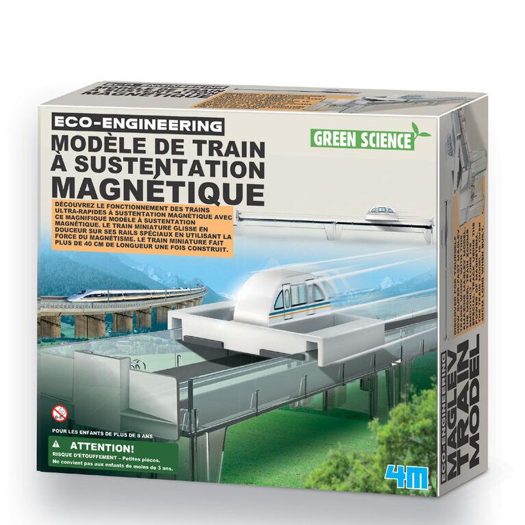 4M Maglev Train Model