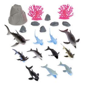 Animal Planet - Collection Océan 20 pièces - Notre exclusivité