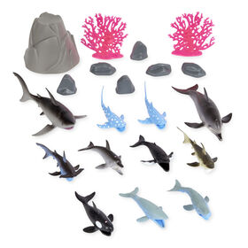 Animal Planet - Ocean Bucket Collection - 20 Piece - R Exclusive
