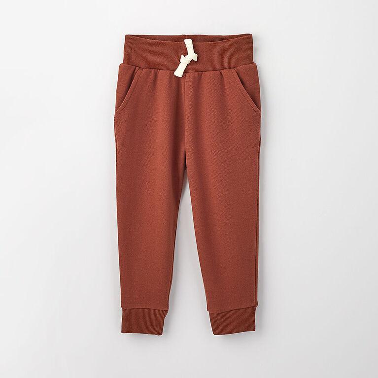 3-4 ans pantalon de jogging en coton biologique - racine