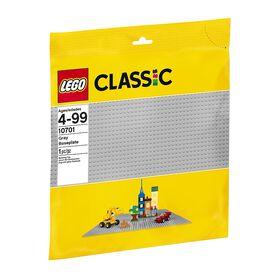 LEGO - Gray Baseplate (10701)