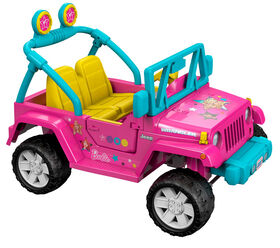 Fisher-Price - Power Wheels - Barbie - Jeep Wrangler