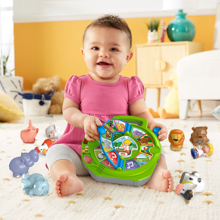 Fisher-Price Little People Exploring Animals See 'n Say Gift Set - English Edition - R Exclusive