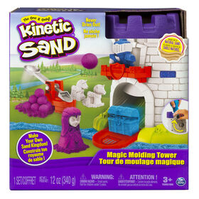 Kinetic Sand – Tour de moulage magique avec 340 g de Kinetic Sand