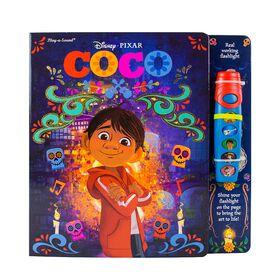 Disney Pixar Coco Glowing Flashlight Adventure Book