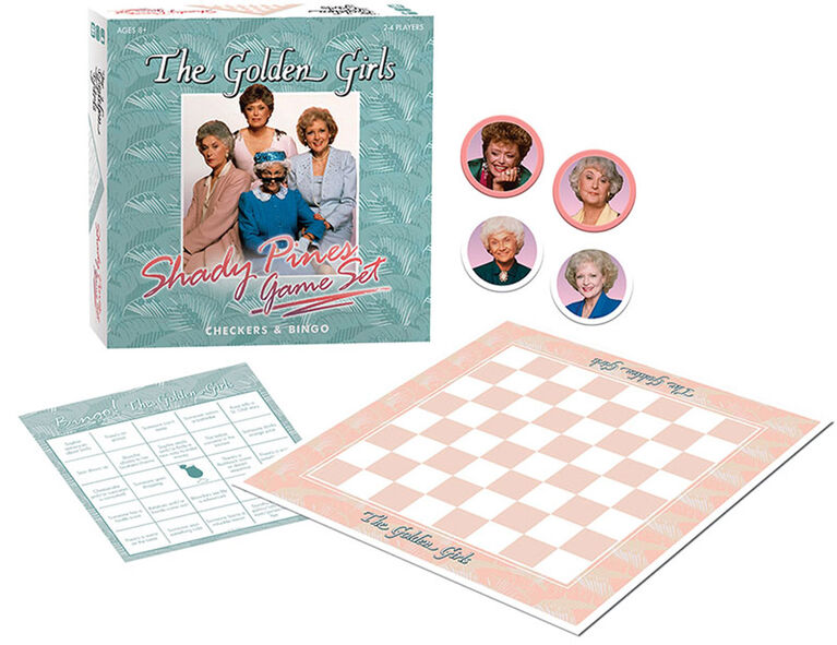 Le Jeu The Golden Girls Shady Pines - Édition anglaise