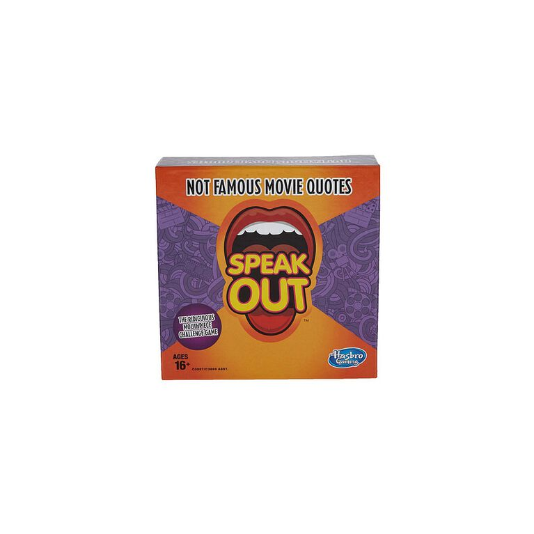 Hasbro Gaming - Speak Out Expansion Pack: Not Famous Movie Quotes