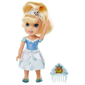 Petite Cinderella with Glittered Hard Bodice + Comb