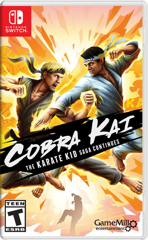 Nintendo Switch Cobra Kai