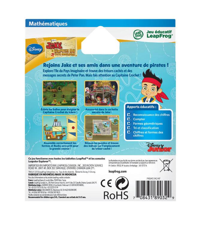 LeapFrog LeapPad Jake et les Pirates du Pays Imaginaire - Mathématiques jeu éducatif - Édition francaise