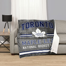 NHL Team Throw - Toronto Maple Leafs