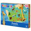 Cardinal Games 100-Piece Geoffrey Jigsaw Puzzle, Canada
